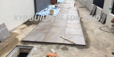 SA13 External Homo Tiling Works