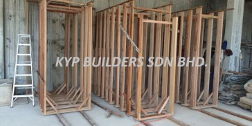 SA13 Solib Timber Door Frame