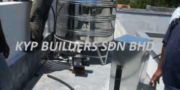 SA13 Stainless Steel water tank and water Pump